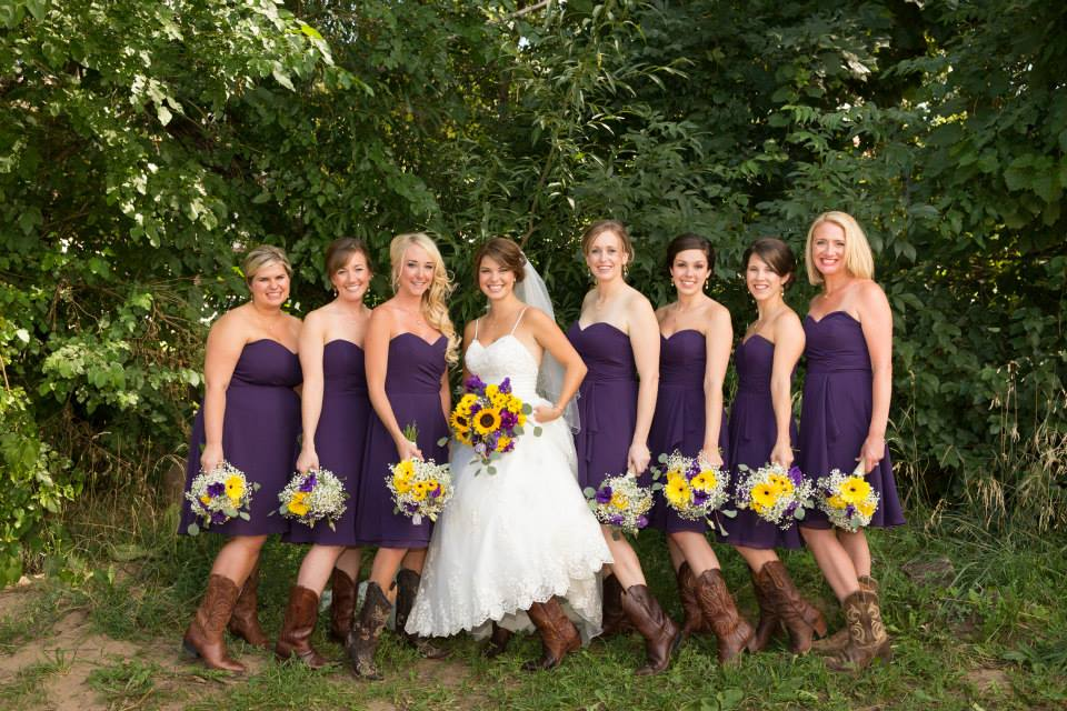 Purple Wedding, Sunflower wedding flowers, denver wedding planner, colorado mountain wedding planner, destination wedding planner