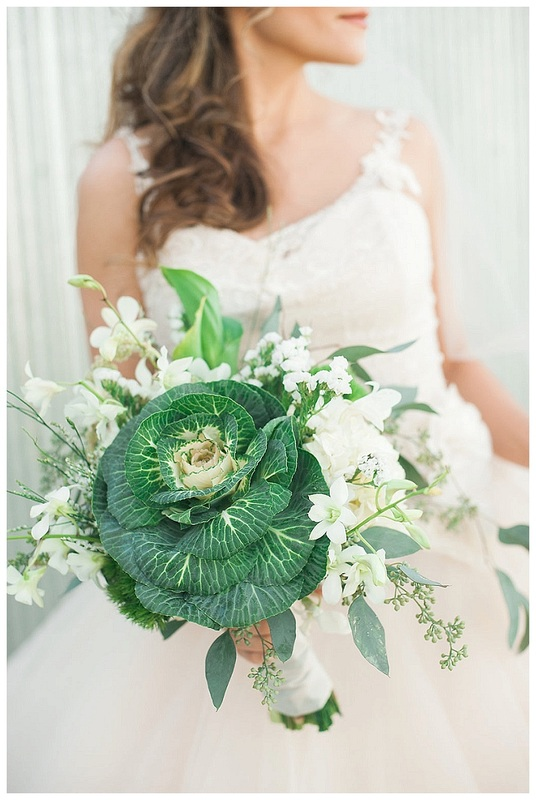 denver wedding flowers, colorado wedding planner, green wedding flowers, kale wedding bouquet, blanc denver wedding
