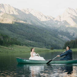 vail wedding planner, piney river ranch, bride and groom portrait, rocky mountains, mountain wedding