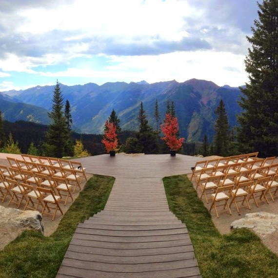 breckenridge wedding planner, vail wedding planner, denver wedding coordinator, wedding planning beaver creek, Aspen Wedding Deck