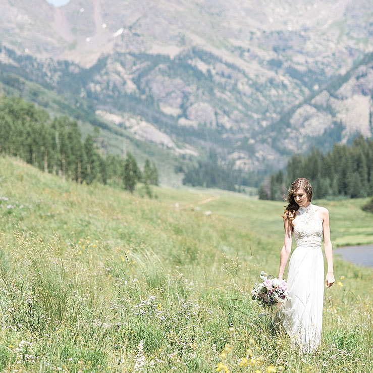 bridal portrait, wedding mountain inspiration, beaver creek wedding planner, vail wedding planning, sweetly paired weddings, piney river ranch, destination wedding planning