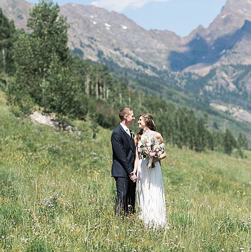 bride and groom portrait, piney river ranch, colorado mountain wedding planning, vail wedding planners, sweetly paired weddings, destination wedding planner