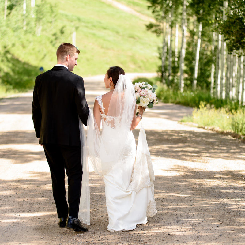 Bride and groom first look, allie's cabin beaver creek wedding, colorado wedding planner, rocky mountain wedding planner