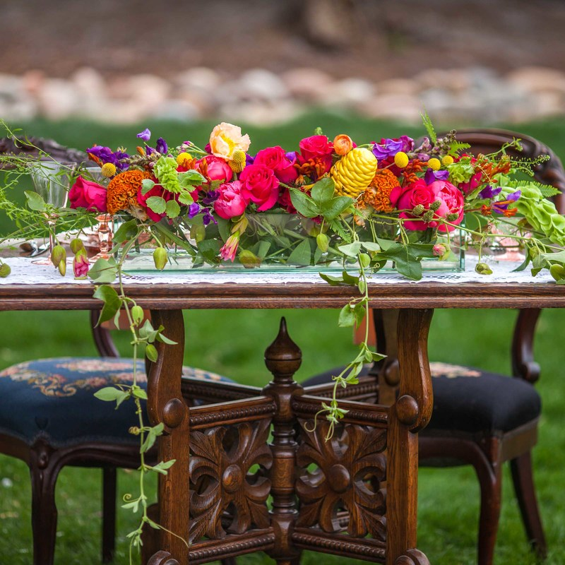 colorful colorado wedding, wedding planner denver, colroful wedding, denver event design