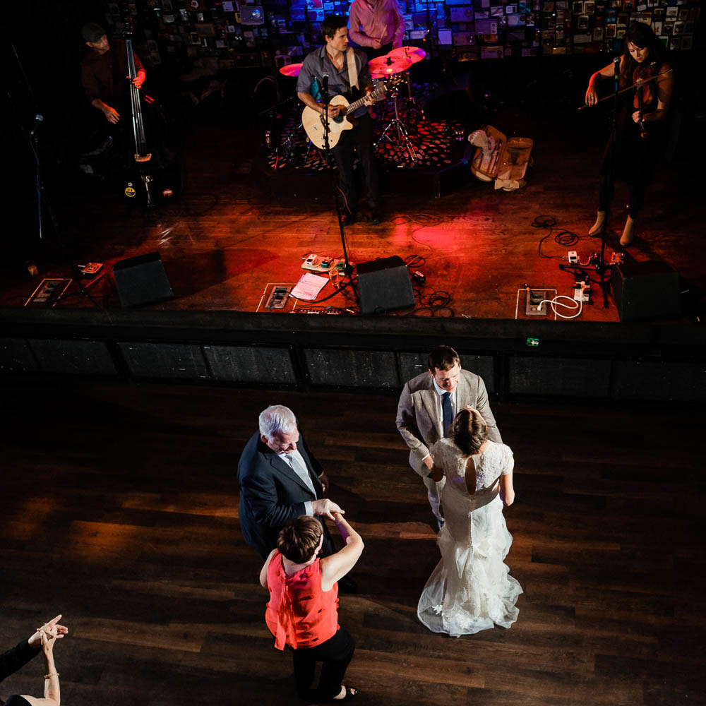 Ophelia's Electric Soapbox reception venue, live wedding band, denver wedding planner, colorado wedding inspiration, sweetly paired wedding planning, dance floor