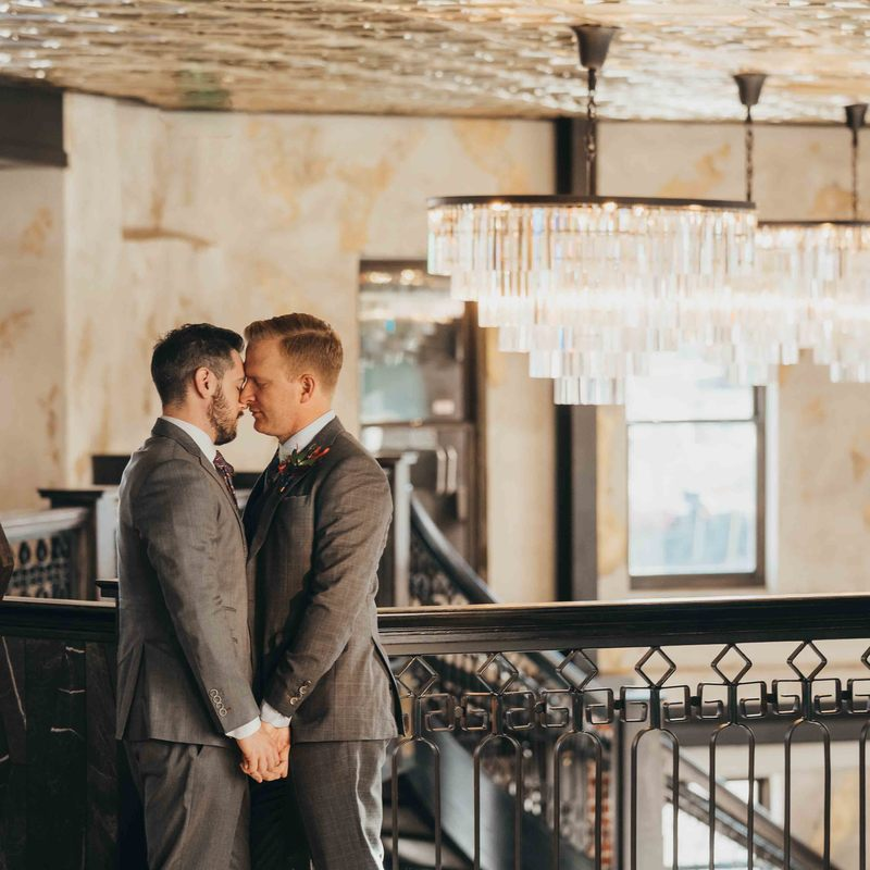 same sex wedding planner denver, colorado gay wedding planner, ironworks denver wedding