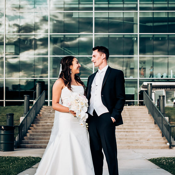 denver wedding planner, colorado wedding planner, denver museum of nature and science wedding, blush and white wedding