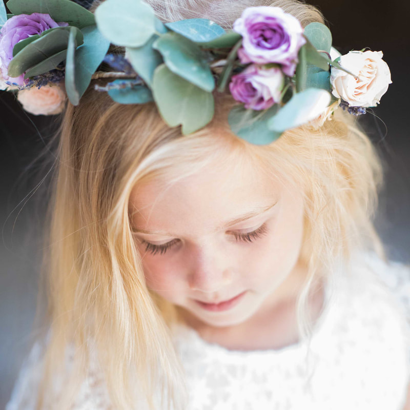 flower crown, flower girl, mountain wedding planners, vail wedding planner, beaver creek wedding inspiration, piney river ranch weddings
