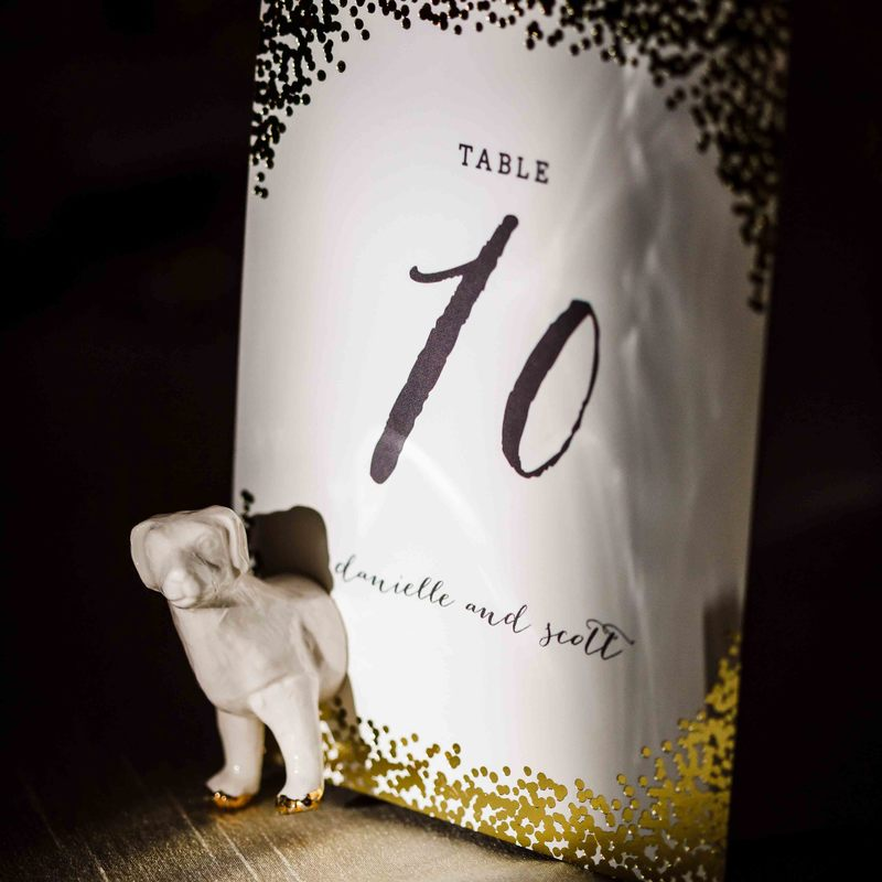 Vail wedding planner, fall wedding colorado, donovan pavilion wedding, gold table numbers