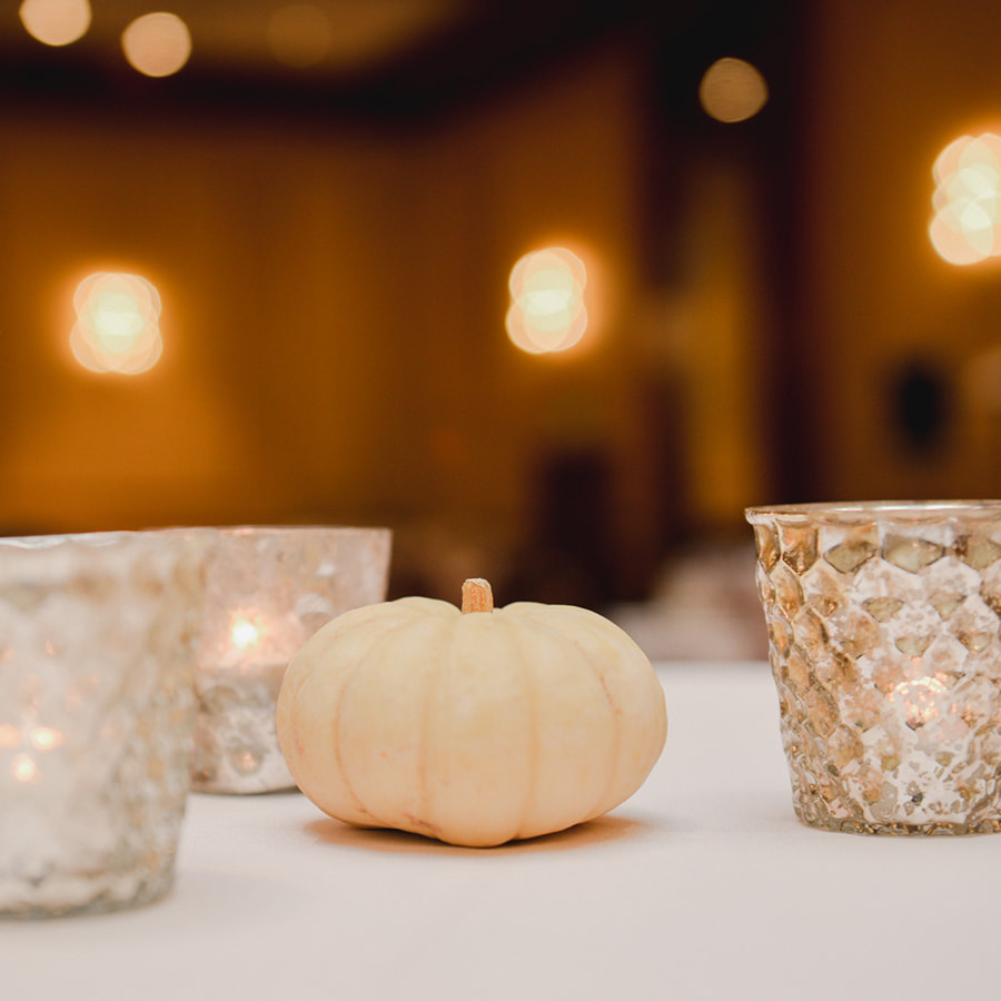 white pumpkin Centerpieces, gold and pink, reception detail photos, denver athletic club weddings, denver wedding planning, colorado wedding planner, destination wedding planner